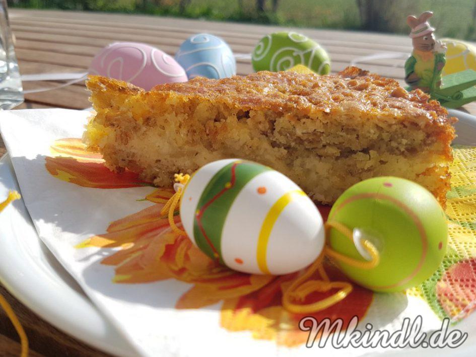 Kuchen aus Haferflocken