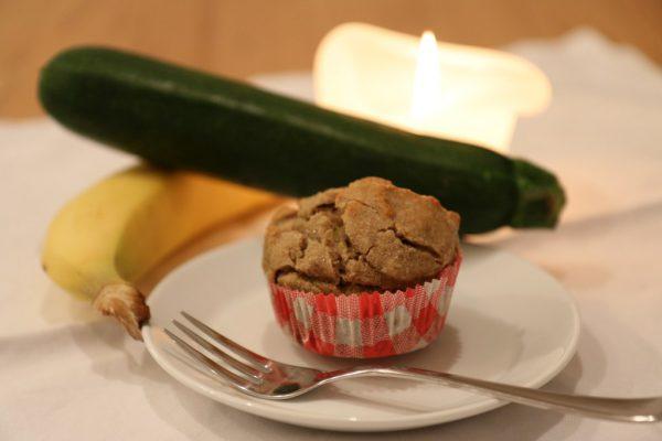 Zuccini-Buchweizen-Muffins